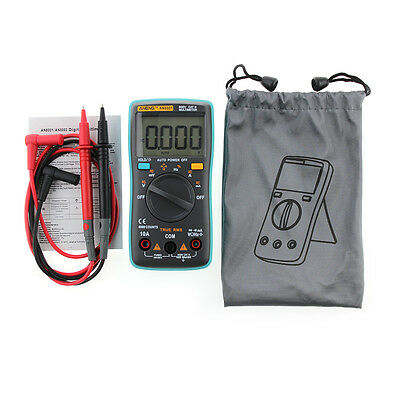 Portable LCD Digital Multimeter AC/DC Voltmeter Ohm Multi Tester 6000counts