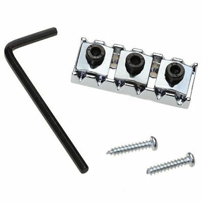 Chrome Electric Guitar Strings Locking Nut  42mm - High Quality / Professional