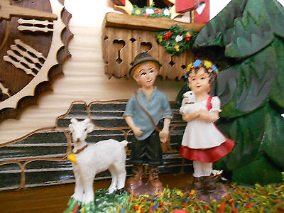 Cuckoo clock Swiss House 1 day NEW Special Limit Edition Hand Made in Germany!