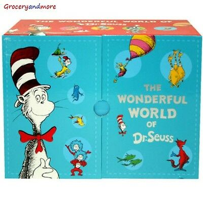 The Wonderful World of Dr. Seuss 20 Books Box Set Pack Collection ABC
