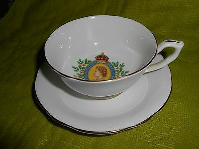Queen Elizabeth 2nd Coronation Commemorative Cup and Saucer 2nd June 1953