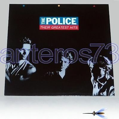 """The Police Sting """"their Greatest Hits"""" Rare Lp '90 Mint"""