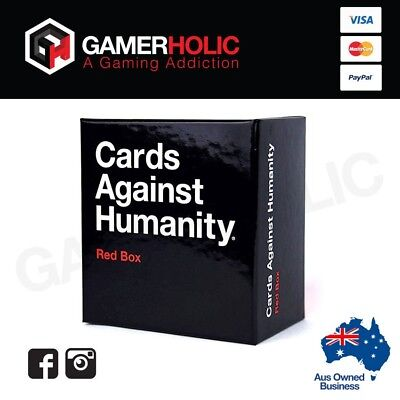 Cards Against Humanity Expansions RED Box 300 Cards NEW RELEASE Brand New
