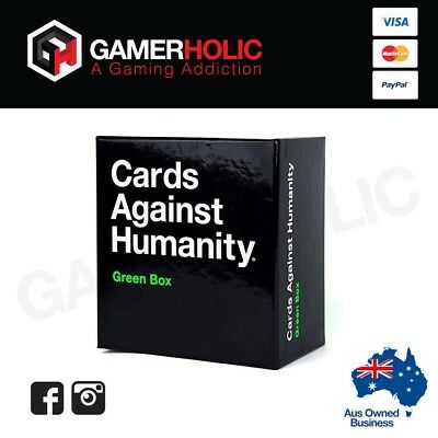 Cards Against Humanity Expansions Green Box 300 Cards NEW RELEASE Brand New