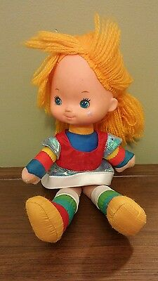 1983 Rainbow Brite 11 Inch Doll with Dress