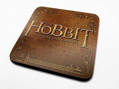 The Hobbit Cork Coaster - 6 Designs To Choose From - Free UK Post