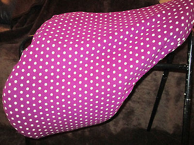 patterned fleece saddle covers