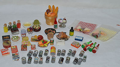 Joblot 12Th Scale Dollshouse Food Tins And Bottles