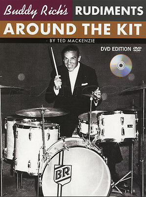 Buddy Rich Rudiments Around the Drum Kit Book with DVD Ted MacKenzie