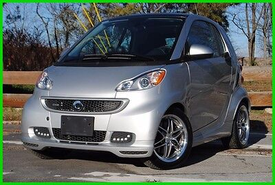2015 Smart fortwo BRABUS Glass Roof Leather Heated Seats Brabus Coupe Loaded Low Miles Must See Theft Recovery Rebuilt N0T Salvage Save