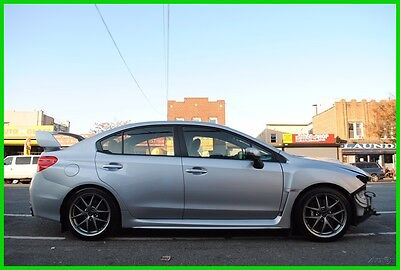 2015 Subaru WRX Limited ST-i STi  Navigation Moon Roof Repairable Rebuildable Salvage Wrecked Runs Drives EZ Project Needs Fix Save Big