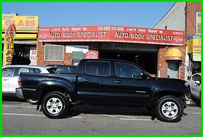 2014 Toyota Tacoma CREW CAB V6 SR5 AT 4x4 4WD Camera Heated Seats Repairable Rebuildable Salvage Wrecked Runs Drives EZ Project Needs Fix Save Big