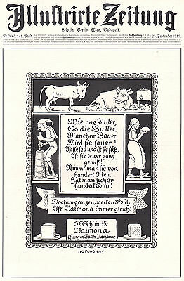 1913 Jugend Style Ad Print Dr.Schlinck Palmona Butter Margarine by Ivo Puhonny