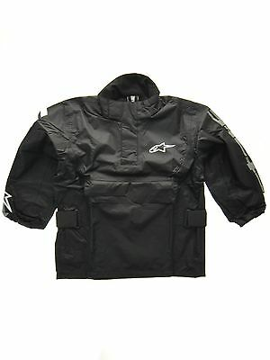 Alpinestars Black RJ5 Kids MX Rain Jacket