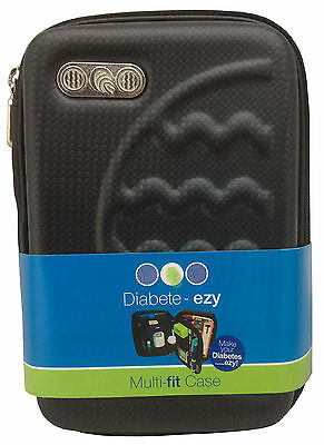 Diabete-Ezy Multi Fit Case Black