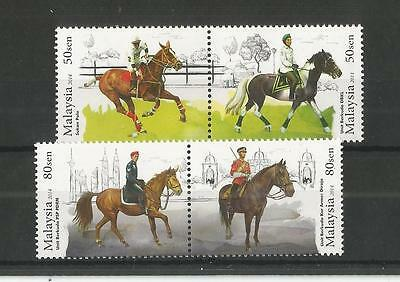 Malaysia 2014 Year Of The Horse Sg,1999-2002 U/m N/h Lot 2016A
