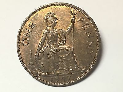 1947 George VI One Penny