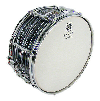 Sakae 14 x 6.5 Inch Trilogy Snare Drum in Black Oyster Pearl (NEW)