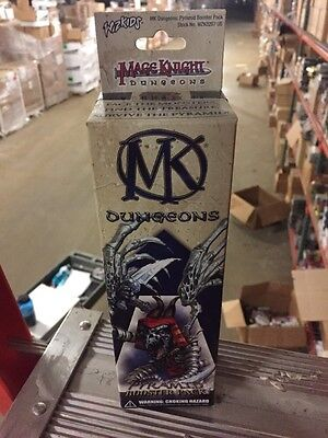 Mage Knight - Dungeons Pyramid Booster Pack 2 pack lot