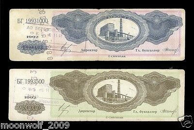 LOCAL RUSSIA Berezovskaya GRES-1 1992 500 & 1000 units Private Issue