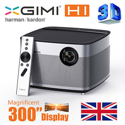 XGIMI H1 Smart Home Theater 4K 300'' 3D Smart Projector LiveTV.Direct H1 Native