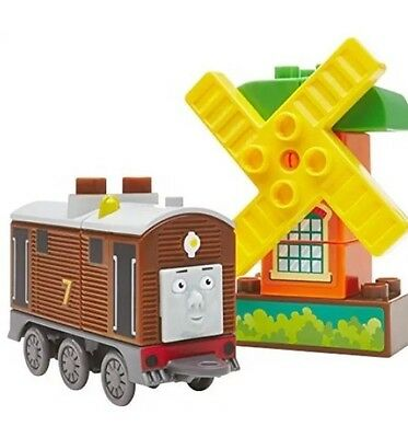 Mega Bloks Toby Thomas and Friends Buildable Engine