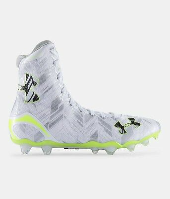 Under Armour Highlight MC Lacrosse High Top Cleats Men's Shoes MSRP $130 NEW