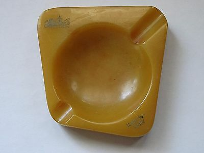 VINTAGE BAKELITE CATALIN ASHTRAY RARE BAKELITE weighs about 67 grams !