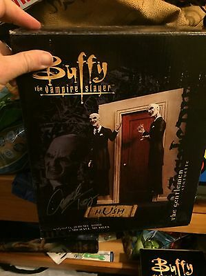 Buffy The Vampire Slayer Rare Hush Gentlemen Statue - Signed By Camden Toy!