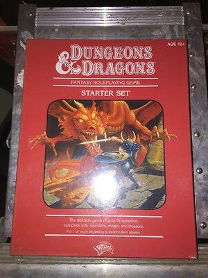 D&D Fantasy Roleplaying Game Starter Set NEW d20 Dungeons Dragons Red Box 4th ed