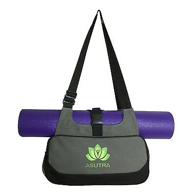 COMPACT YOGA MAT BAG / Stylish Efficient & Lightweight / Perfect For Yogis Ju...