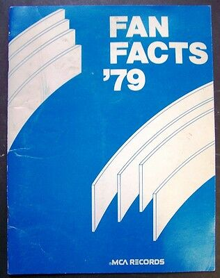 1979 MCA Records Country Music Artists Fanfare Media Guide