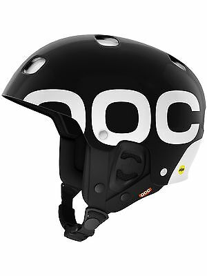 POC Uranium Black 2017 Receptor Backcountry Mips MTB Helmet