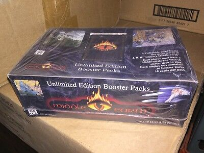 Middle Earth Card Game - The Wizards Expansion Set Booster Box.