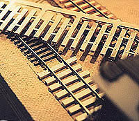 RD On30, O Scale Flex Tie Strips, Injection Molded