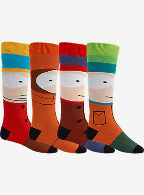 BURTON X SOUTH PARK 4 PACK SNOWBOARD SOCKS BRAND NEW sold out!