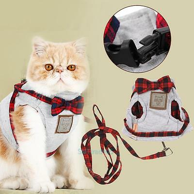 Pet Control Harness for Dog Cat Soft Mesh Walking Leash Collar Safety Strap Vest