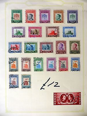 JORDAN Used with Airmails SG445/58 FP8859