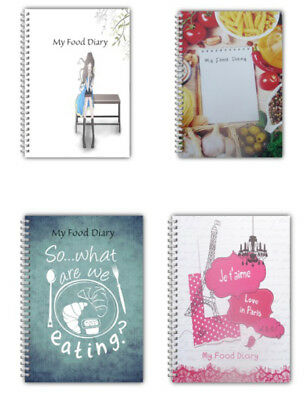 A5 Diet Diary My Food Diary Slimming World Tracker Weight Loss Planner Logbook