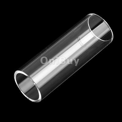 71mm utiles Guitare Diapositives Basse Cylinder Tone Lumineux Bar