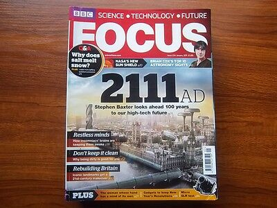 BBC Focus Magazines Collection of 13 issues 2011
