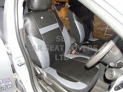 RED // BLACK YS06 RECARO SPORTS SEAT COVERS i TO FIT A PEUGEOT RCZ CAR
