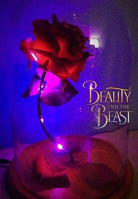 Beauty and The Beast Enchanted Rose high quality replica