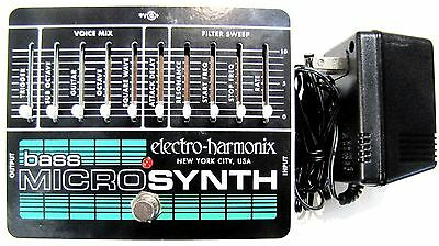 Used Electro-Harmonix EHX Bass Microsynth Analog Micro Synthesizer!