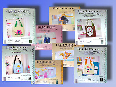Felt Crafting Set, Complete Set Pocket o. decode Figurine, Craft Creative