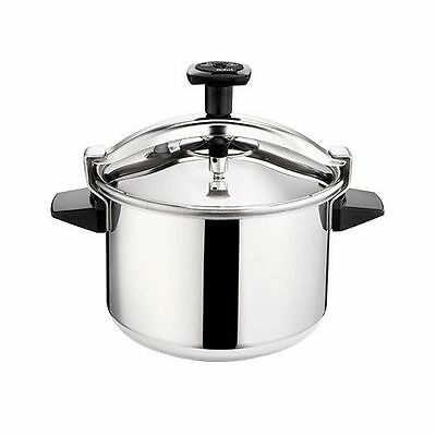 Tefal Authentic Stainless Steel Pressure Cooker 8 L