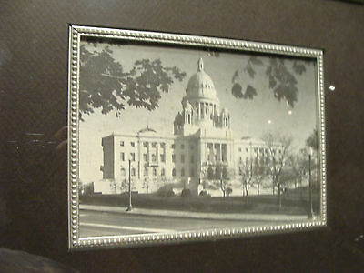 framed print of The State House in Providence, Rhode Island