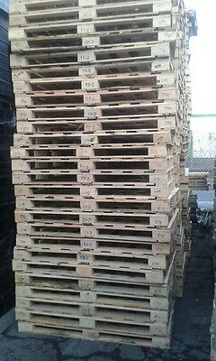 Large pallets heat treated ISPM15 pack of 15