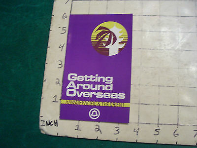 Vintage BELL PHONE getting around overseas HAWAII PACIFIC & THE ORIENT 1975 16pg
