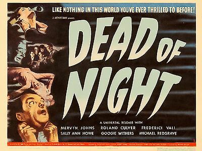 """Dead of Night 16"""" x 12"""" Reproduction Film Poster Photograph 2"""